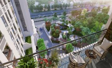 Thiết kế căn hộ 4 phòng ngủ dự án chung cư Florence Mỹ Đình